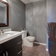 Transitional Bathroom by Martin Bros. Contracting, Inc.