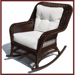 traditional outdoor chairs by Wicker Paradise