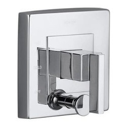 KOHLER - KOHLER K-T14668-4-CP Loure Rite-Temp Valve Trim with Diverter - KOHLER K-T14668-4-CP Loure Rite-Temp Valve Trim with Diverter in Polished Chrome