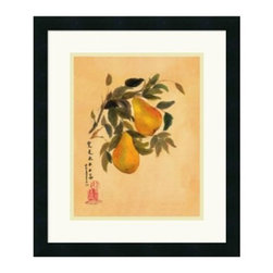 "Pears Framed Wall Art - 18W x 21H in. - About Amanti ArtAmanti Art, derived from the Italian way to say """"art lovers,"""" has the simple goal of creating an effective way to bring the love of art into everyone's homes. The company offers beautifully crafted frames and top-notch prints at an inexpensive price and with the highest convenience."