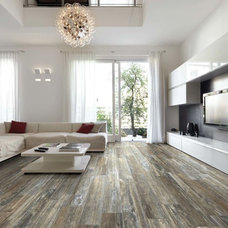 Eclectic Living Room by Canadian Home Flooring