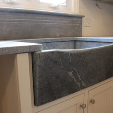 Farmhouse Kitchen Sinks by The Stone Studio