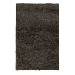 Surya - Surya Contemporary Spider Stone 5'x8' Rectangle Area Rug - The Spider area rug Collection offers an affordable assortment of Contemporary stylings. Spider features a blend of natural Charcoal Gray color. Handmade of 70% Polyester - 30% Wool the Spider Collection is an intriguing compliment to any decor.