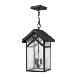 Hinkley Lighting - Hinkley Lighting 1792BK Holbrook Black Outdoor Hanging Lantern - Hinkley Lighting 1792BK Holbrook Black Outdoor Hanging Lantern