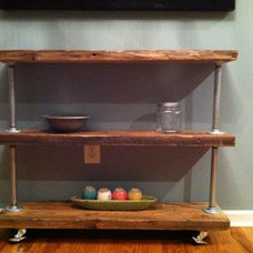 Traditional Bar Carts by Etsy