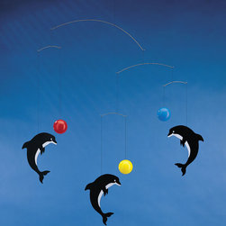 Flensted Mobiles - On Sale Playing Dolphins Mobile - Playing Dolphins Mobile
