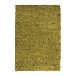 Surya - Surya Cirrus Hand Woven Green Felted Wool Rug, 9' x 12' - Completely hand woven in India from 1% New Zealand felted wool, Surya's Cirrus Collection is available in 1 colors.  The balance of texture and form of these rugs translates superbly into both modern and classic decor.  Imported.Material: 100% New Zealand Felted WoolCare Instructions: Blot Stains