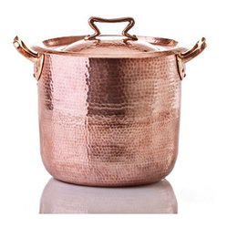 10-Quart Copper Stock Pot