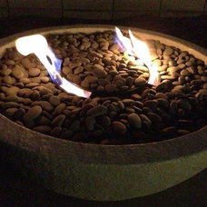 Modern Fire Pits Let there be light