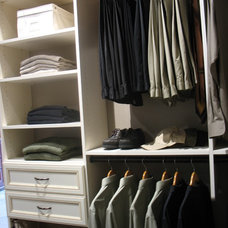 Eclectic Closet by Carson Closets & Cabinetry