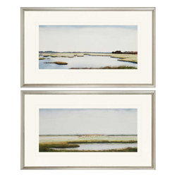 Paragon - Marshlands I PK/2 - Framed Art - Each product is custom made upon order so there might be small variations from the picture displayed. No two pieces are exactly alike.