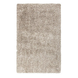 Surya - Milan Hand Woven Rug in Beige / Ivory - This Hand Woven area rug is made from New Zealand wool (80%) and polyester. This floor rug has a high pile to lend warmth and extra cushioning. Features: