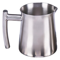 Frieling - Creamer, Brushed Finish, 10 oz. - Complement Frielings brushed French Presses with the matching sugar/condiment bowl. The sugar/condiment bowl is ideal for sugar, marmalades or condiments. Find the matching creamer and French Presses in 4 sizes her on direct.frieling.com
