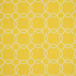 "Loloi - Indoor/Outdoor Ventura 3'6""x5'6"" Rectangle Yellow-Ivory Area Rug - The Ventura area rug Collection offers an affordable assortment of Indoor/Outdoor stylings. Ventura features a blend of natural Yellow-Ivory color. Handmade of Polypropylene the Ventura Collection is an intriguing compliment to any decor."
