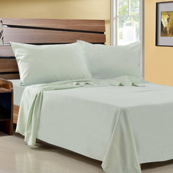 None - Microfiber Wrinkle Free Sheet Set - Enjoy the vibrant fashionable colors of this microfiber wrinkle-free sheet set. Cool in the summer and warm in the winter,this ultra-soft double-brushed sheet set is perfect for your twin,full,queen or king sized bed.
