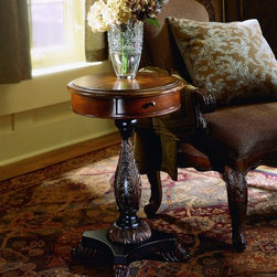 PULASKI Furniture - Accents Table in Stratford Finish - 550106 - Wood Construction