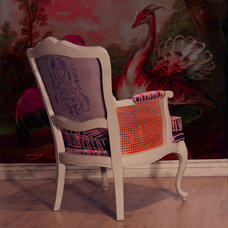 Eclectic Armchairs And Accent Chairs by Trompe Decorative Finishes
