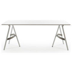 Benjamin Hubert - Bow Trestle Table