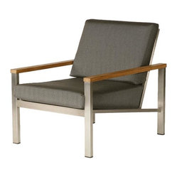 Barlow Tyrie - Equinox Armchair w/ Cushion - Coal