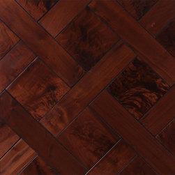 Custom Walnut Wood Floors - Custom Walnut Parquet Flooring
