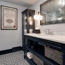 Traditional Bathroom by KADesign