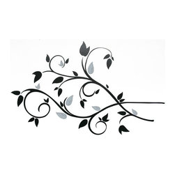 RoomMates - Scroll Branch Foil Leaves Removable Wall Decals - 49W x 28H in. Multicolor - RMK - Shop for Stickers from Hayneedle.com! About Roommates: Roommates a subsidiary of York Wallcoverings Inc creates some of the most versatile and unique wall decor you'll find. Their innovative wall decals feature a removable and endlessly reusable design allowing you to move and rearrange your decals as often as you like all without causing any damage to your walls or furnishings. This means you can apply them without worry or headache since you don't have to get the application perfect the first time. RoomMates work on any smooth surface and are particularly ideal for temporary decorating such as around the holidays. All RoomMates products are proudly made in the USA and are made from non-toxic materials so they're as safe for your kids and pets as they are for your walls.Please note this product does not ship to Pennsylvania.