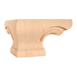 Hardware Resources - PFCS-MP Rounded Corner Pedestal Foot - Rounded Corner Pedestal Foot by Hardware Resources