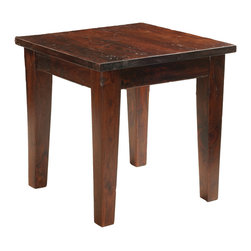 Four Hands - Provence End Table - Simple yet stylish, this end table will make the perfect accent to your favorite space. It's inspired by the rustic romance of the French countryside, relying on a traditional technique to distress the surface for a look that encourages relaxed, everyday use.