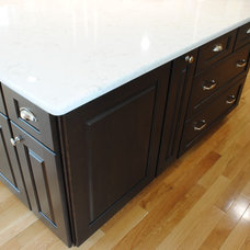 Contemporary Kitchen Cabinets by Sterling Kitchen & Bath