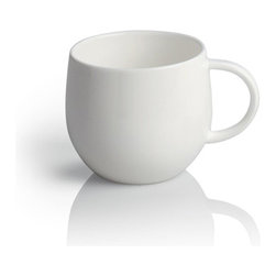 """Alessi - Alessi """"All-Time"""" Mocha Cup, Set of 4 - Mocha cup in bone china."""