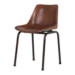 Taft Chair - I love this classic chair in leather, really a luxurious take on an all-time classic form.