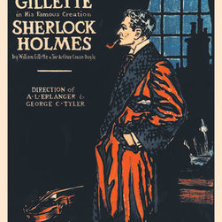 Buyenlarge - William Gillette as Sherlock Holmes: Farewell to the Stage 20x30 poster - Series: Sherlock Holmes