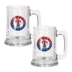 Great American MLB 15 oz. Logo Glass Tankard Set - About Great American ProductsWith beginnings as a belt buckle maker in Texas, Great American products has become the leader in licensed metal emblems and the products that they adorn. With licenses with every major sports league, Great American products a wide range of unique products like drinkware, coolers, and kitchen accessories for the dedicated fan.