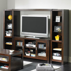 Contemporary Media Storage by Hayneedle