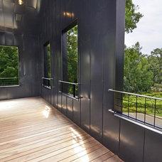 Contemporary Exterior by Murphy & Co. Design