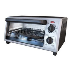 """BLACK & DECKER - B&D TO1322SBD BLACK TOASTER OVEN 4 SLICE/ 9"""" PIZZA COOKING -"""