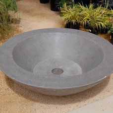Contemporary Firepits by Concreteworks