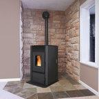 Enviro 25'' x 42'' Maxx Series Freestanding Pellet Stove - 86% Efficiency