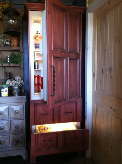 Eclectic Refrigerators And Freezers by Rhonda Kieson Designs