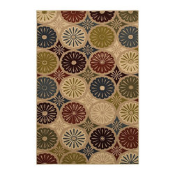 Mohawk - Contemporary YoYo Multi 8'x10' Rectangle Multi Color Area Rug - The YoYo Multi area rug Collection offers an affordable assortment of Contemporary stylings. YoYo Multi features a blend of natural Multi Color color. Machine Made of Polypropylene the YoYo Multi Collection is an intriguing compliment to any decor.