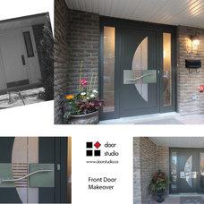 Modern Front Doors by Door Studio North America Corp