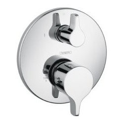 Hansgrohe 04352000 S/E Thermostatic Trim With Volume Control In Chrome -