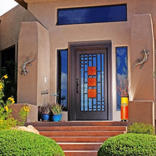 Contemporary Front Doors by First Impression Security Doors
