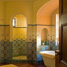 Mediterranean Bathroom by Enos Reese + co