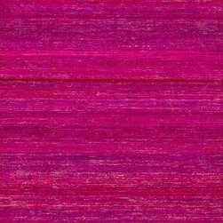 Loloi - Loloi Resama Fuchsia Area Rug - Loloi's oneofakind Resama Collection features flatwoven dhurrie designs that are integrated with vintage silk saris within the weave. Each unique piece features an array of vibrant colors sure to brighten up any room.