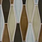 New Releases by Pratt and Larson - Pratt and Larson's Lg Elongated Ogee (PF-EOLG ) in glazes W45, W85, W7, W77