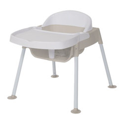 "Foundations - Foundations Secure Sitter Feeding Chair 9"" Seat Height White/Tan - No Slip passive restraint prevents child from sliding out of seat. No tip feet provide stable base to keep chair securely on the floor. Chairs stack 4 high for space saving storage. No Slip passive restraint prevents child from sliding out of seat. No tip feet provide stable base to keep chair securely on the floor. Chairs stack 4 high for space saving storage."