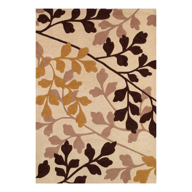 Couristan - Ambrosia Royal Empress Rug - These modern, elegant area rugs offer a bold color palette that can serve as either the foundation of the room, or act as the unifying piece that ties everything together. Take advantage of the collection's large-scale floral designs which have been designed to enlarge the appearance of any setting needing the extra sense of dimension and depth. These beautiful floral designs are a great way to add a pop to any room, from the foyer to the bedroom.