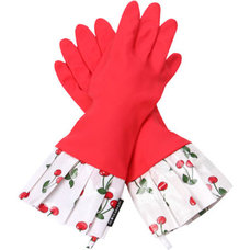 Eclectic Cleaning Gloves by Elizabeth's Embellishments