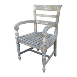 Trade Winds - New Trade Winds Chair White/Cream Painted - Product Details